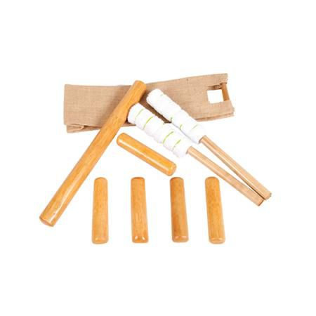 Chair Bamboo Stick Set W/ Chair Version Dvd