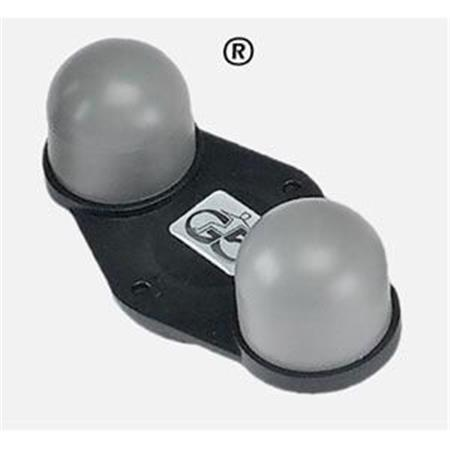 Two Ball Applicator Frm Rubber For G5 Massagers