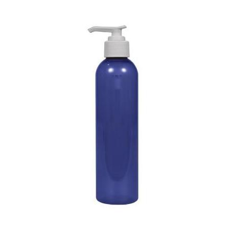Plastic Bottle With White Pump 8 oz