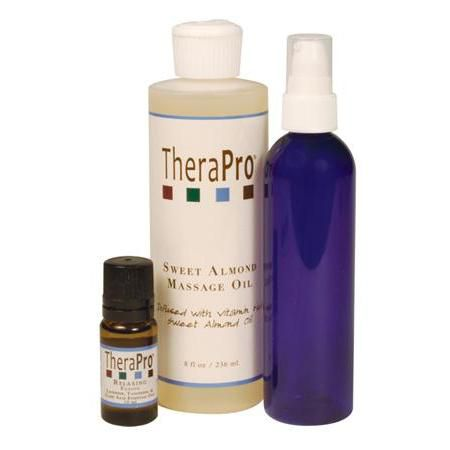 TheraPro Relaxing Aromatherapy Oil Massage Pkg