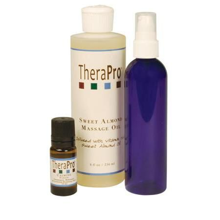 TheraPro Calming Aromatherapy Massage Oil Pkg