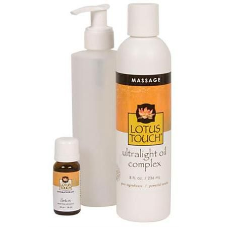 Lotus Touch Detox Massage Oil Package