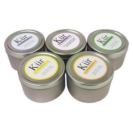 Kur Soy Candle 4oz Tin Collection