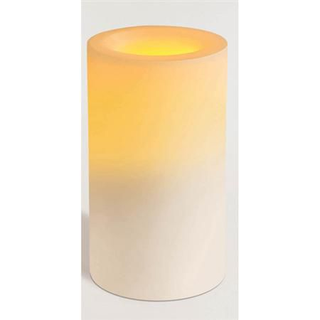 Flameless Wax Candle Unscented 6""