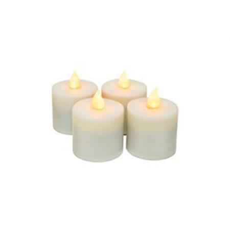 Rechargeable Tealights 4-Pack