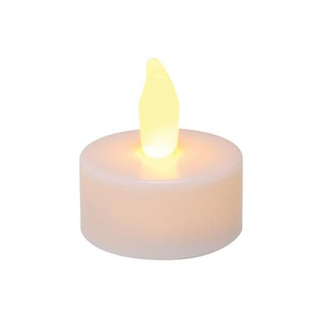 "Battery Opperated Flameless 1.75"" Tealights 10/Pk"