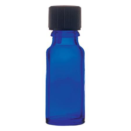 Cobalt Blending Bottle 15Ml With Cap And Dropper