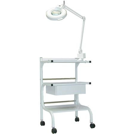 3 Shelf Trolley With Power Strip