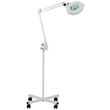 Paragon 5X Magnifying Lamp On Rolling Stand