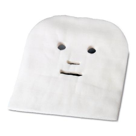 "Pre-Cut Gauze Face Mask 12"" X 11"" 50 Pack"