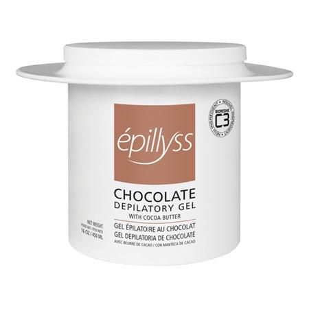 Epillyss Chocolate Depliatory Gel 16 Oz