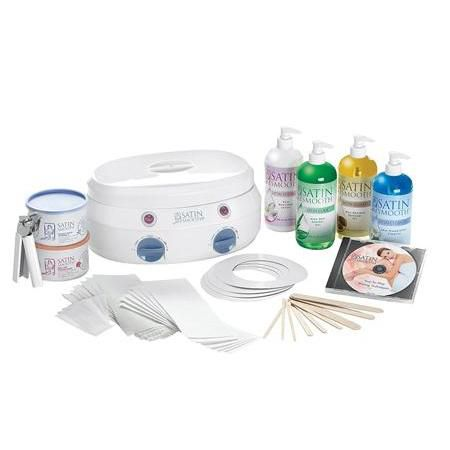 Satin Smooth Double Warmer Wax Kit