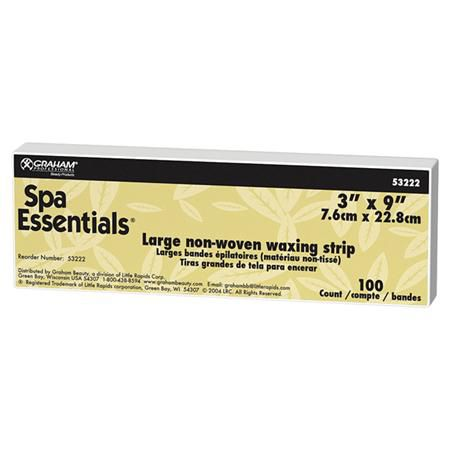 Spa Essentials Pellon Waxing Strips 100Ct