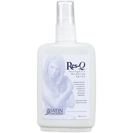 Satin Smooth Res-Q Analgesic Numbing Spray 2-Oz