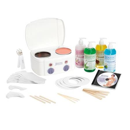 Satin Smooth Double Wax Warmer Kit