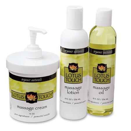 Lotus Touch Organic Naturals Massage Kit