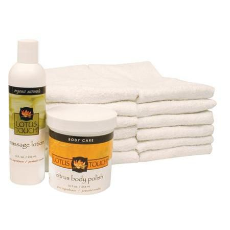 Lotus Touch Citrus Body Polish Treatment Package