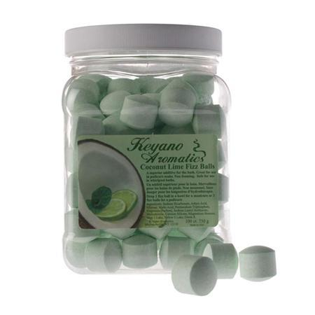 Keyano Coconut Lime Fizz Balls 100Ct