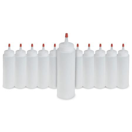 Applicator Bottle With Yorker Cap 8 Oz (Dozen)