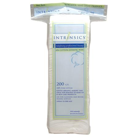 Intrinsics 4X4 Cotton Esthetic Wipe 4-Ply 200 Ct
