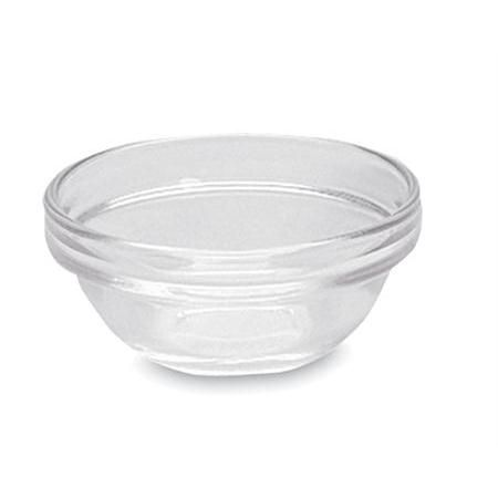 "Glass Blending Cups, 2 Oz 1""H X 3"" Dia - 6/Pkg"