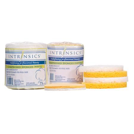 Intrinsics Compressed Sponges 75Ct