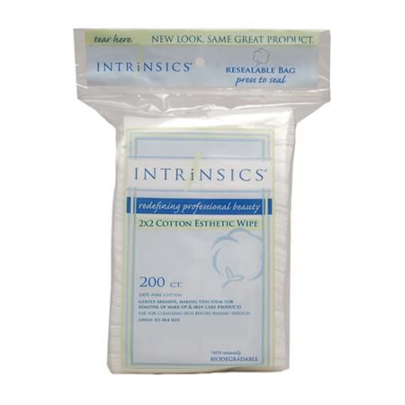 "Intrinsics Cotton Esthetic Wipes 2""X2"""