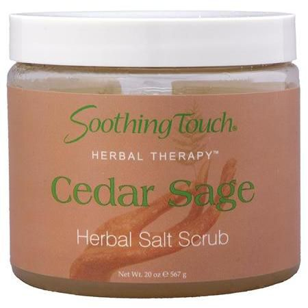 Soothing Touch Cedar Sage Salt Scrub 20oz