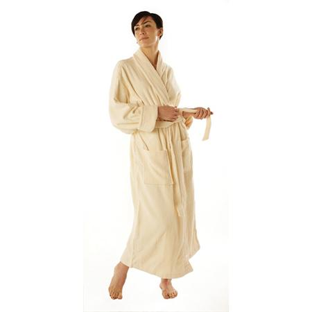 Velour Shawl Collar Robe