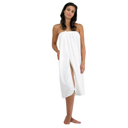 Canyon Rose Cloud 9 Microplush Spa Wrap White