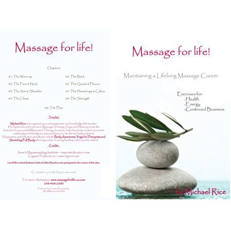 Massage For Life Dvd