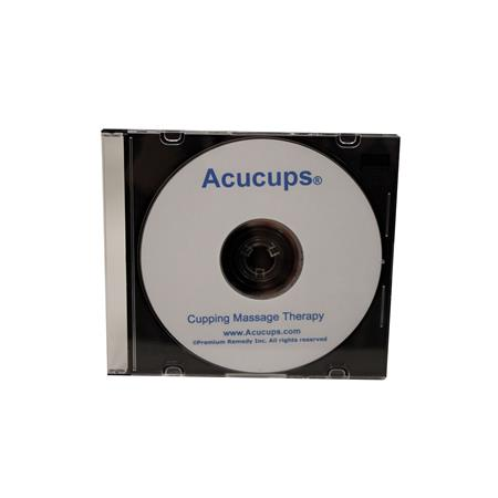 Acucups Cupping Massage DVD
