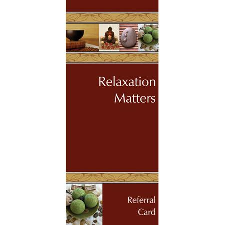 Relaxation Matters Incentive Cards- 20 Pack