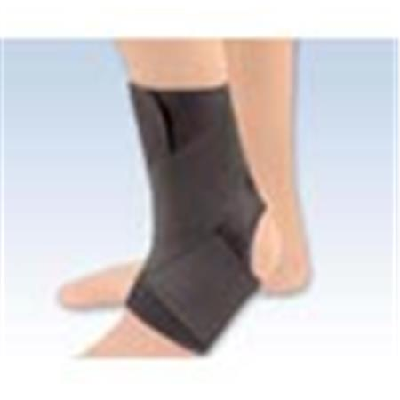 EZ-ON Neoprene Wrap Around Ankle Support Black