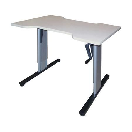 "Hausmann Hand Therapy Hydraulic Table 48"" x 32"" x 27-39"""