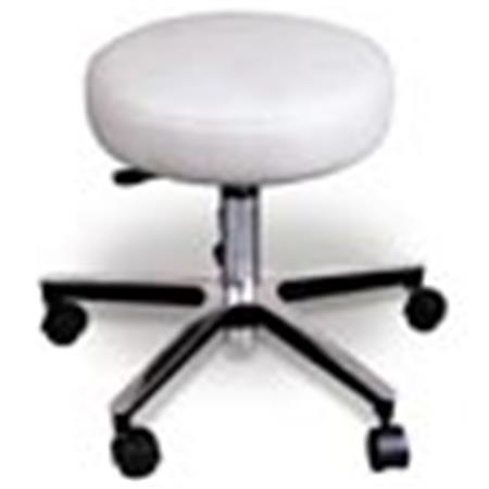 Groovy Deluxe Chrome Pneumatic Rolling Stools On Sale Adjustable Ibusinesslaw Wood Chair Design Ideas Ibusinesslaworg