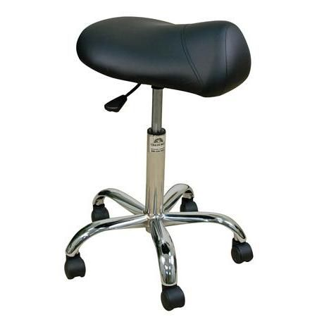 "Oakworks® Professional Saddle Stool 19""-25""H"