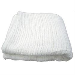 Thermal Cotton Massage Blanket 100% Cotton White 66' x 96'