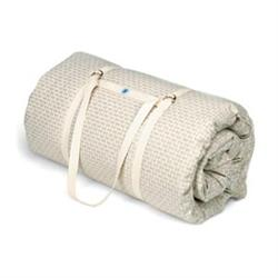 "Cotton Yoga Mat Linen 70""Lx25""Wx3""H"