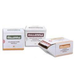 Millennia Acupuncture Needles .22Mm, #34, 3""
