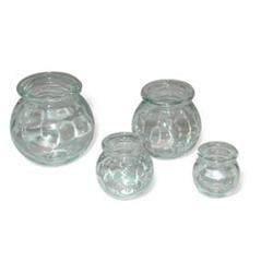 Glass Cupping Jars 4 Piece Set - Glass Cupping Therapy Jars