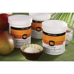 Lotus Touch Body Scrub Pomango 16 Oz