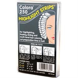 Colora Highlight Strips 4' X 10' 250 Ct