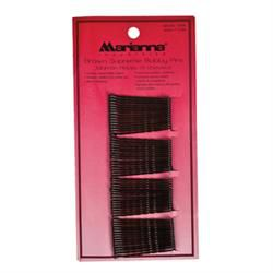 Carded Bobby Pins Brown, 60Ct