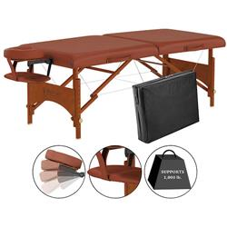 Master® Massage Equipment 28' Fairlane™ Portable Massage Table Package Cinnamon