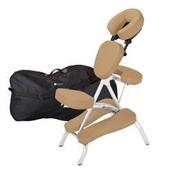 EarthLite Vortex™ Massage Chair Package Maries Beige
