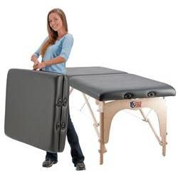 Custom Craftworks Omni Sports Massage Table Black