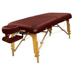 NRG Vedalux Massage Table Package Burgundy