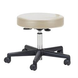 EarthLite Rolling Stool without Back - Pneumatic Rolling Massage Stool