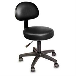 NRG Rolling Stool W/ Removable Backrest